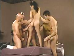 Asian creampied