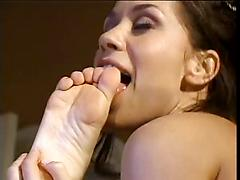 Kinky Lesbiana Have Big Foot Fetish And Fuck Each Other