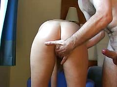 Girl Reams On Her Mans Hard Dick And Sucks It