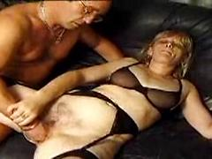 A Blonde Milf Loves To Get Fisted In Her Pussy