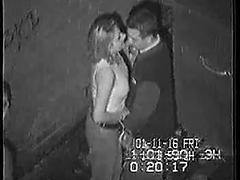 Two Hot Dudes Fucking Lonely Girl In The Garage