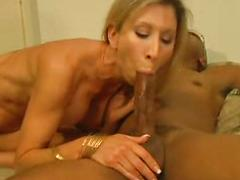Sexy Blonde Milf Loves Any Cock She Can Get Her Hands On