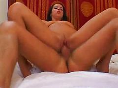 Hot Girl In Uniform Kissing And Fucking A Lucky Guy