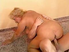 Older German Bbw Gets Her Fat Pussy Pounded