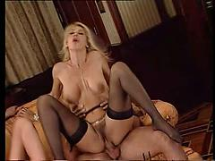 Beautiful Blondes Suck Cocks And Gets Fucked