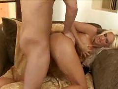 Blonde Milf With Huge Tits Gets Pussy Pounded From Behind