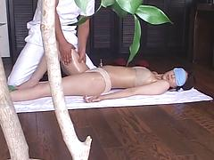 Asian Slut Receives A Massage Then Recives A Dick