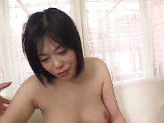 Sexy Asian Babe Knows How To Please A Cock