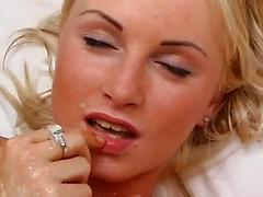 Hot Blonde Sucks And Fucks A Guy Anal Sex