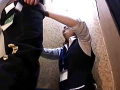 Gorgeous Asian Milf Get Physical In A Changing Room