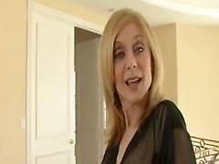 Sexy blonde mature preferred anal