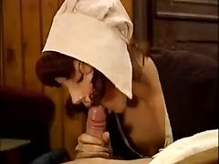 German country girl fucked by two guys