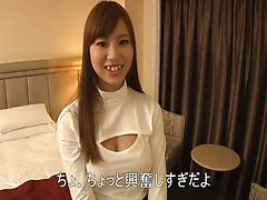 Fascinating Asian angel gets toyed and slammed on the POV video